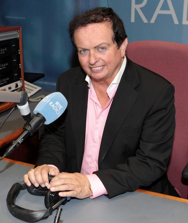 Marty Morrissey when details were announced of his new show