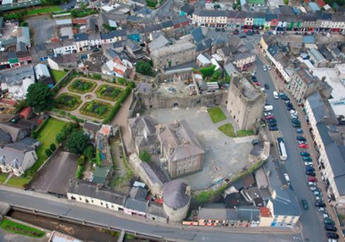 The 800-year-old Roscrea Castle