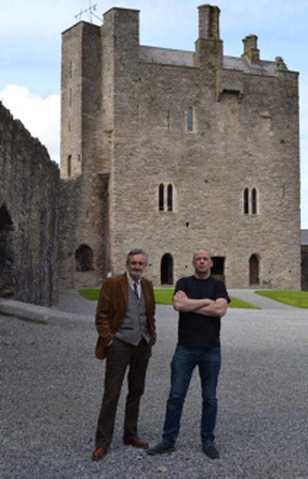 Brian Redmond and James Williams, organisers of 'A Portrait of Roscrea'