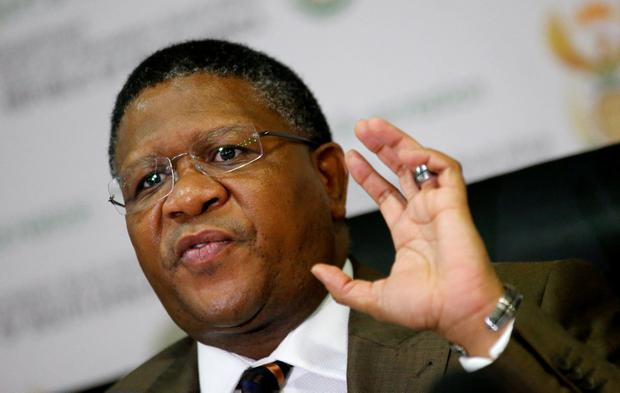 South Africa's Sports Minister Fikile Mbalula