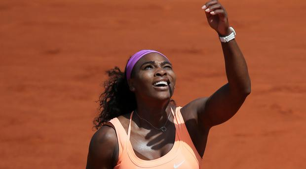 Serena Williams dispelled any doubts about her ability to win the French Open with a victory over Sara Errani