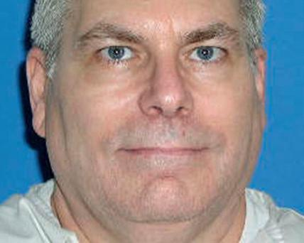 Death row inmate Lester Bower is seen in an undated picture released by the Texas Department of Criminal Justice in Huntsville, Texas.