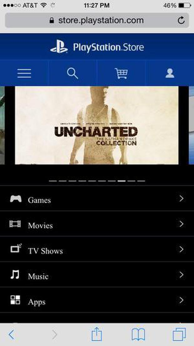 The screengrab of the Uncharted Collection was taken by NeoGaf users