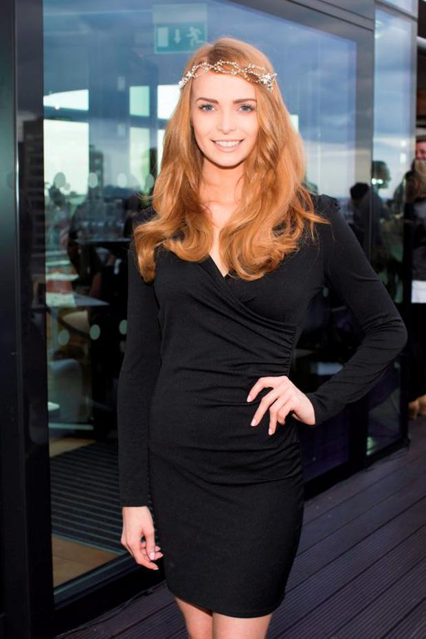 Aoife Walsh pictured on Wednesday, 3rd June at The Marker hotel for the launch of the 2015 Dubai Duty Free Irish Derby