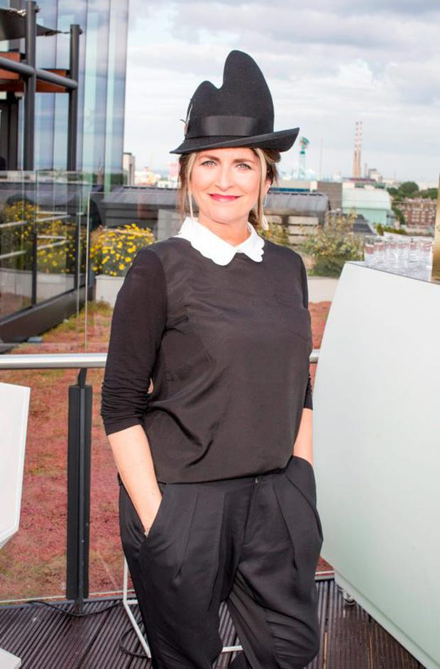 Cathy O'Connor pictured on Wednesday, 3rd June at The Marker hotel for the launch of the 2015 Dubai Duty Free Irish Derby