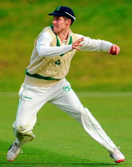 George Dockrell gave a tireless performance to help Ireland move closer to Test cricket