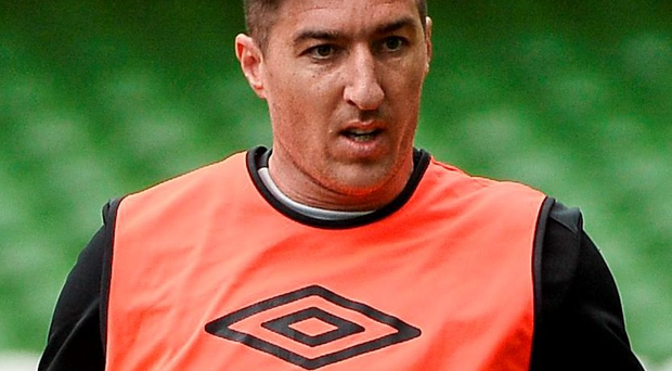 Stephen Ward is hoping to be in contention for Ireland's clash with Scotland