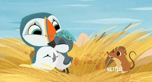 Puffin Rock has been acquired by Netflix