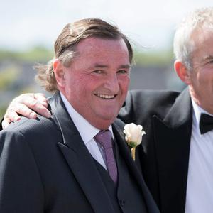 Louis Ronan (father) pictured at Mairead Farrell and Louis Rohan's wedding in Tipperary. Picture Dylan Vaughan.