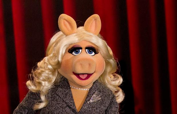 Muppet character Miss Piggy REUTERS/Thomas Peter/Files
