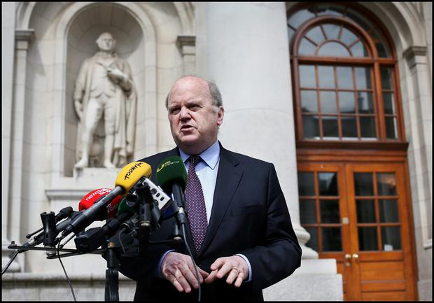 Finance Minister Michael Noonan, who this week announced a Commission of Investigation into the Sitserv deal and other IBRC transactions