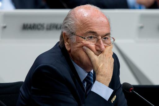 'Football is under a dark cloud thanks to the machinations of Fifa'