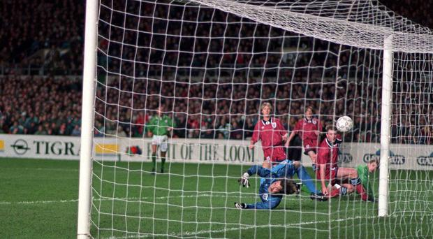 'The real tragedy of the Lansdowne Road riot for many people was that Ireland were winning 1-0 at the time thanks to a David Kelly goal and looking a decent bet to go and score another famous victory'