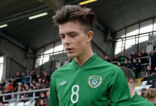 Jack Grealish's last underage international appearance was for the Republic of Ireland