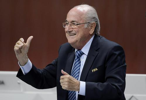 'In truth, the moment when Blatter laughed at Paddy being the 33rd of the 32 qualifiers for the World Cup, was probably the one moment of principle in that man's long and ludicrous career'