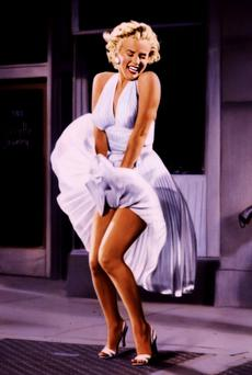 ICON, STAR, ACTRESS: Marilyn Monroe in 'The Seven Year Itch'