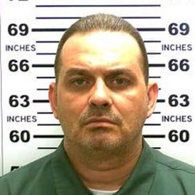 Richard Matt, 48, is pictured in this undated handout photo obtained by Reuters