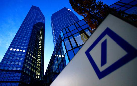 Deutsche Bank HQ, in Frankfurt