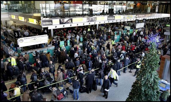 Dublin Airport Authority (DAA) expects to welcome more than 354,000 passengers through the two busy terminals over the coming days and the madness all kicked off early yesterday morning
