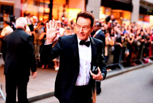 Actor Bryan Cranston attends the 2015 Tony Awards at Radio City Music Hall on June 7, 2015 in New York City. (Photo by Andrew H. Walker/Getty Images for Tony Awards Productions)