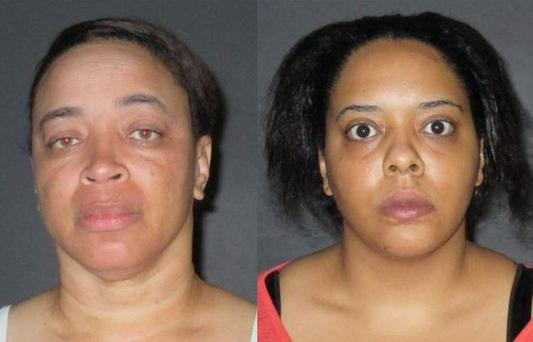 Shelia Newman (left) and April Wright (Photo: East Baton Rouge Sheriff's Office)