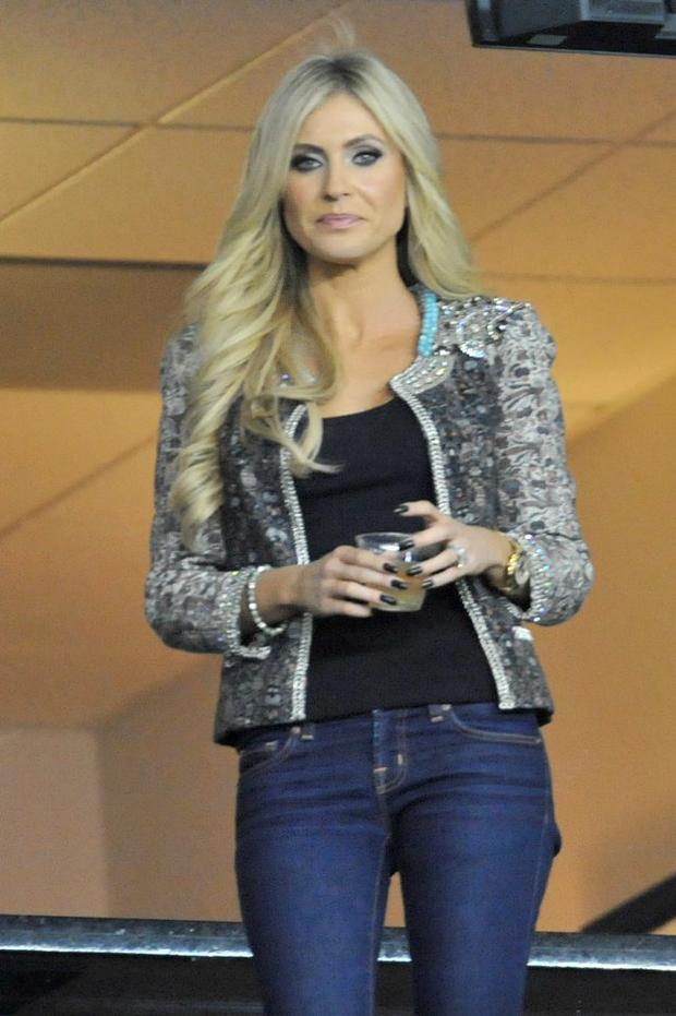Claudine Keane at an LA Galaxy game in 2011