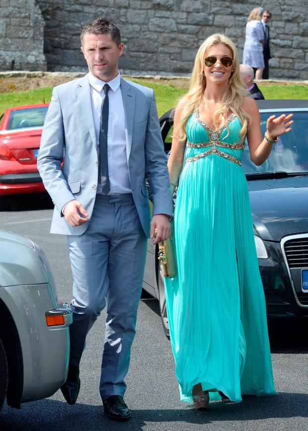 Robbie and Claudine Keane in 2011