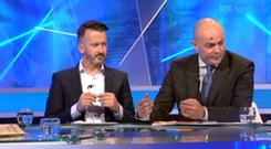 Donal Óg Cusack and Anthony Daly on The Sunday Game