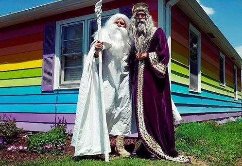 Gandalf and Dumbledore