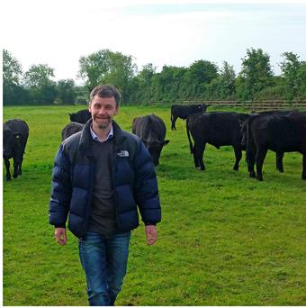 Jonathan Cahill, butchery manager with the La Rousse company which supplies dexter meat to clients here and abroad