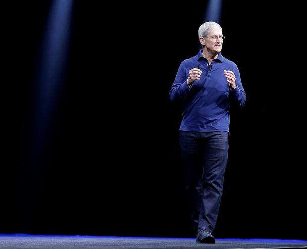 Apple CEO Tim Cook speaks at the Apple Worldwide Developers Conference in San Francisco