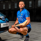 Dublin hurler Michael Carton in the Royal Hospital, Kilmainham, at the launch of Summer Showtime for Toyota, the official car partner to Dublin GAA