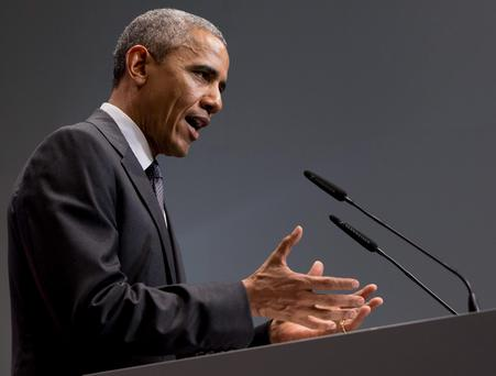 Barack Obama said that the Pentagon had yet to submit a final plan on the training of the Iraqi armed forces against the threat of ISIL