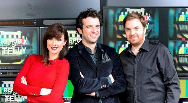 Kevin McGahern alongside Jennifer Maguire and Bernard O'Shea