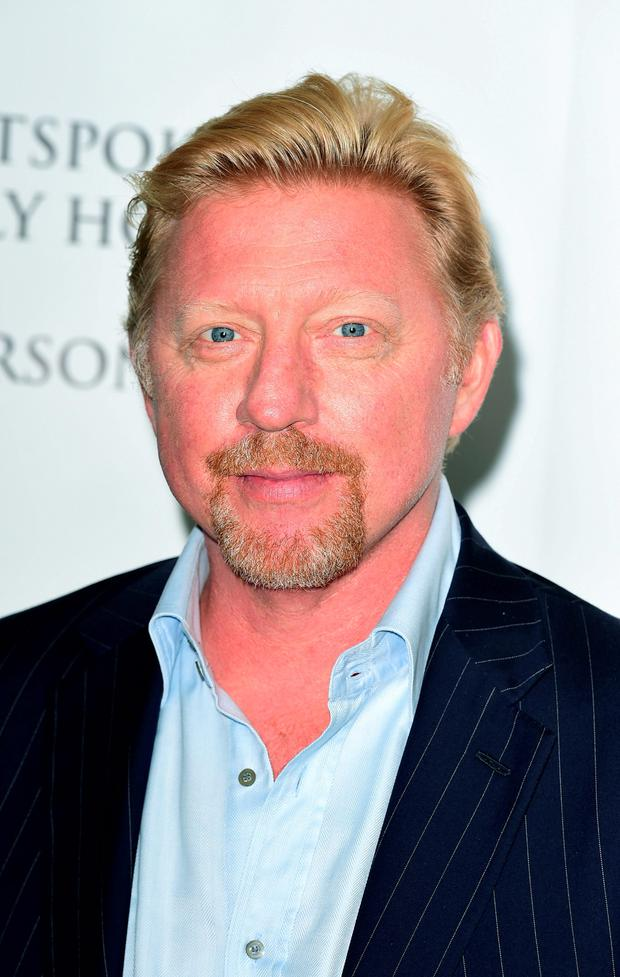 File photo dated 02/10/14 of Boris Becker, as the tennis star has opened up about his famous sexual liaison at Nobu restaurant - saying that he is happy if the brief encounter is one of the things he is best remembered for