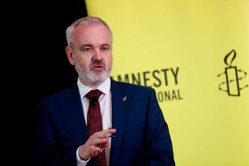 Colm O'Gorman, Exective Director of Amnesty International pictured at the Amnesty International launch of a new major report into abortion. Photo: Maxwells