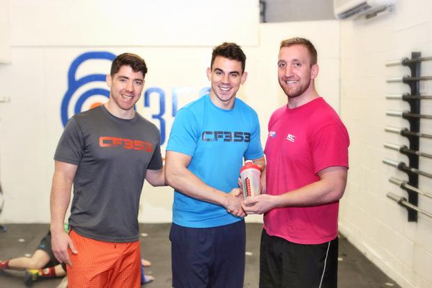 Gary, Peter and Royce of CrossFit 353