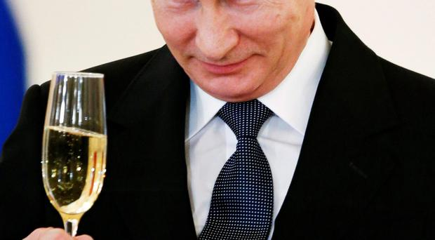 Vladimir Putin's Russia will host the next World Cup in 2018