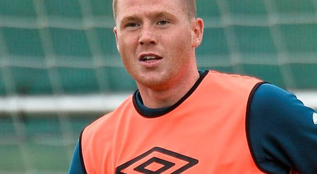 James McCarthy was the subject of internet speculation yesterday in light of Tom Cleverley's switch to Everton
