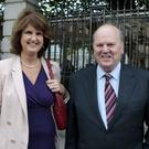 Tánaiste Joan Burton has put pressure on Finance Minister Michael Noonan