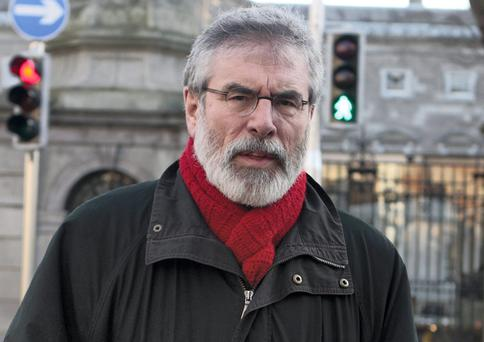 Sinn Fein president Gerry Adams is the only party leader not to have increased in voter satisfaction
