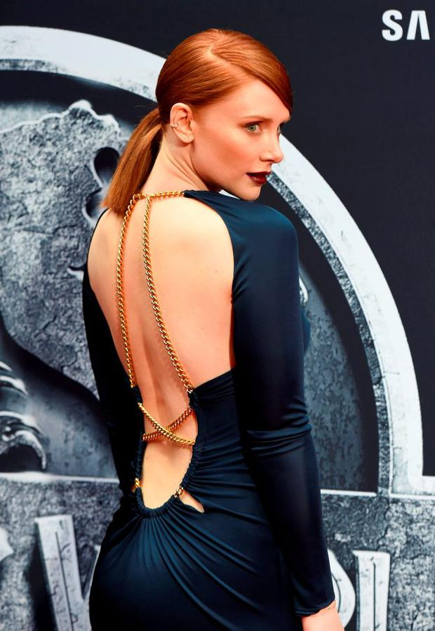 Actress Bryce Dallas Howard attends the Universal Pictures'