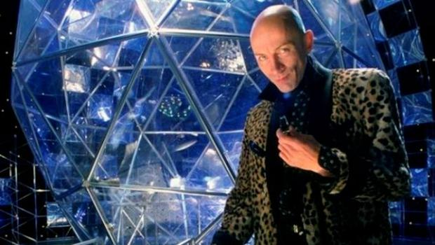 Richard O'Brien presented the original The Crystal Maze TV show
