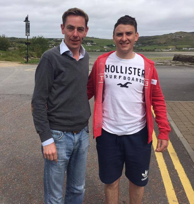 Oisin Merrit and Ryan Tubridy