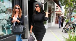 Kim Kardashian is seen in Beverly Hills on June 09, 2015 in Los Angeles, California. (Photo by Bauer-Griffin/GC Images)