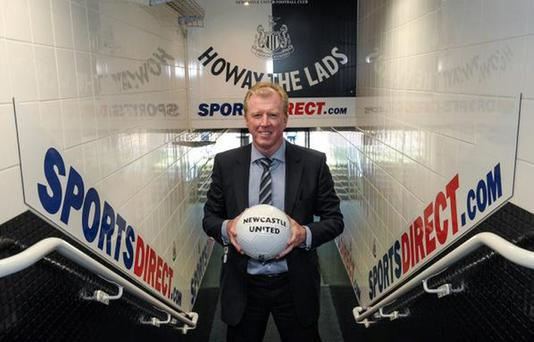 Steve McClaren is the new manager of Newcastle United