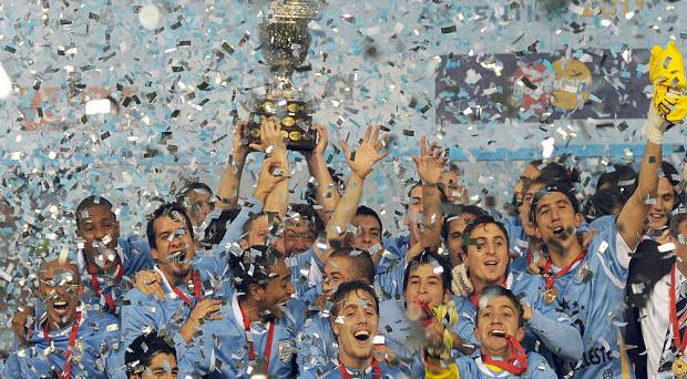 Champions: Uruguay triumphed in 2011