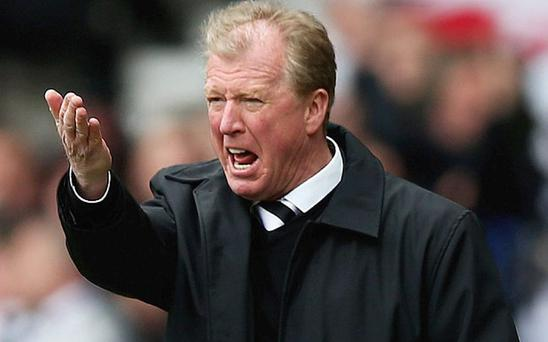 The boss: Steve McClaren is braving the Newcastle hot seat Photo: GETTY IMAGES
