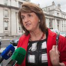 Tánaiste Joan Burton has supported Prof Patrick Honohan's call to burn junior bondholders of IBRC