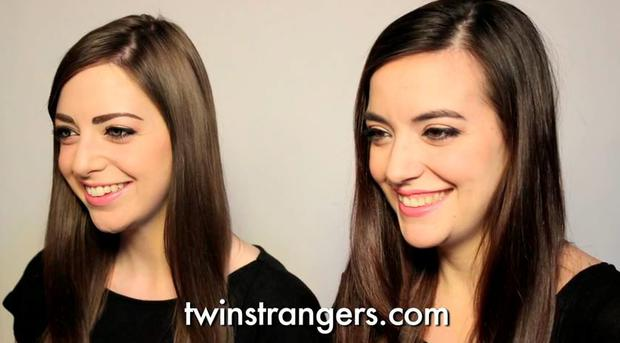 Twin Strangers: Andrea and Luisa